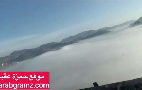 فيديو رائع من اعلى قمة نقيل سمارة - اليمن